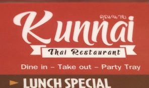 Kunnai Thai Restaurant in LA