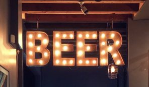 Southland Beer Sign