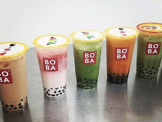 Boba Square menu