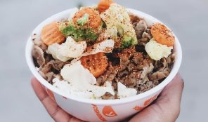 Yoshinoya rice bowl