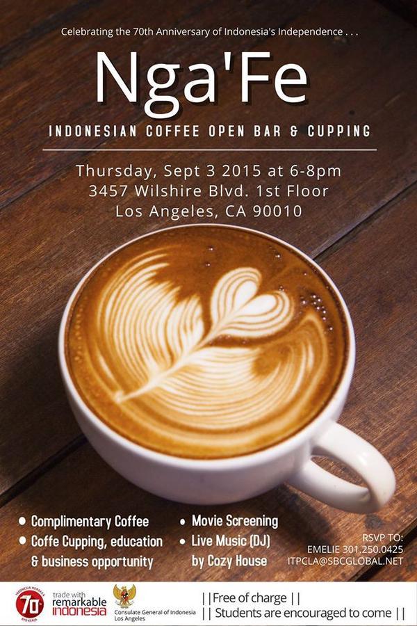 Nga'Fe Indonesian Coffee Bar