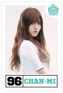 #96, Chanmi, the rapper.