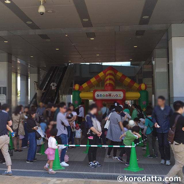 新潟競馬場に子供と行っても楽しもう!遊具にふわふわドーム登場!無料デーは子供の日!