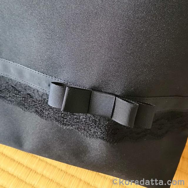 入学式にサブバッグはしまむらで。入園式 卒園式 卒業式などのセレモニーに黒のフォーマルバッグが便利
