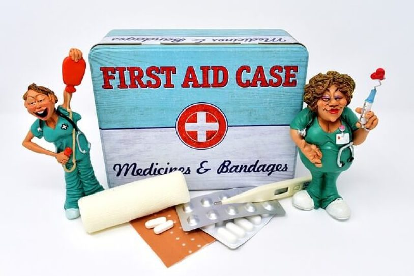 first aid, supply, nurse