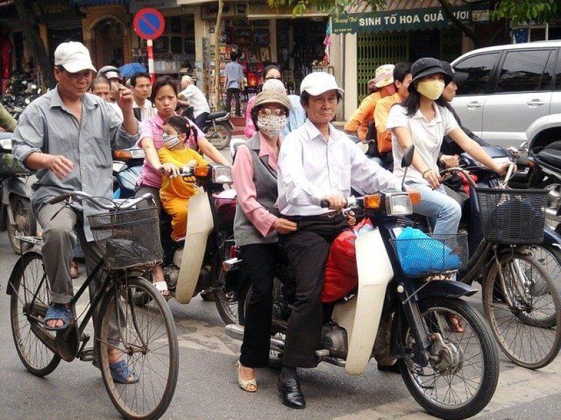 motor, couple, street