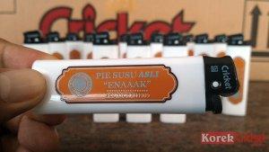 Korek api gas merek cricket sablon logo pie susu Denpasar Bali