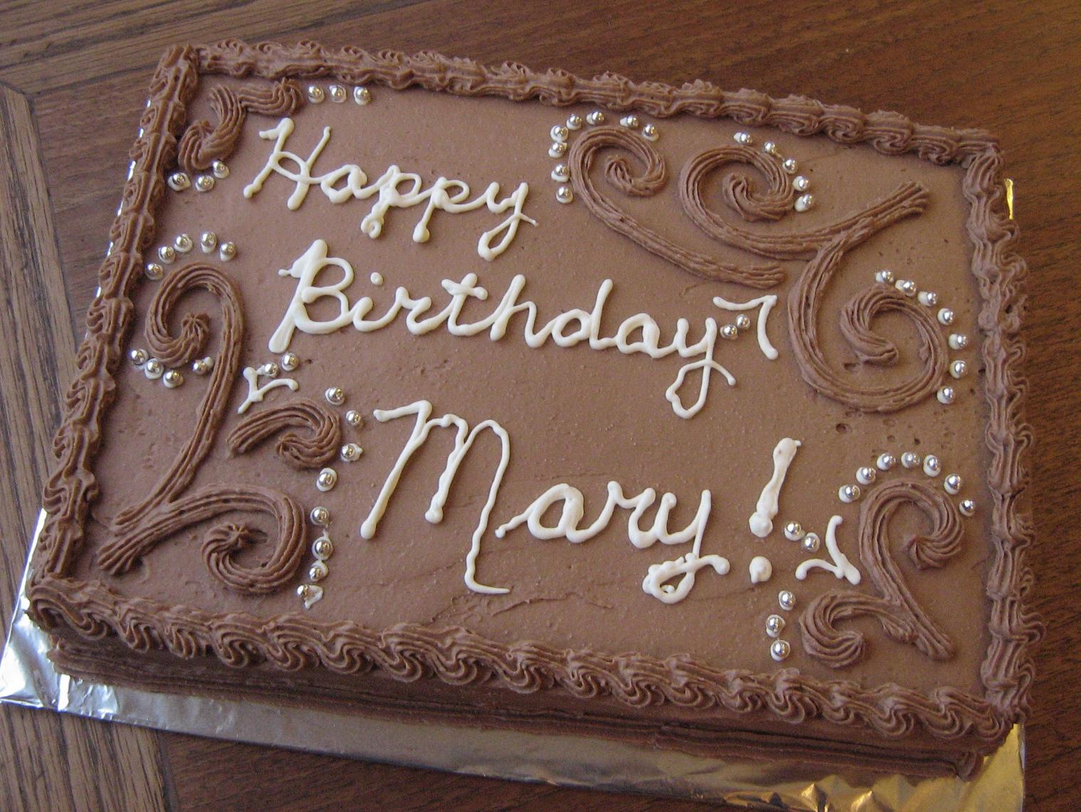 Lemon Meringue Birthday Cake