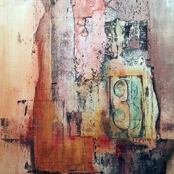 Powertex on canvas by Kore Sage
