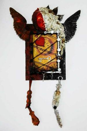 Powertex Mixed Media Art Doll by Kore Sage