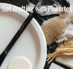 Get crafting with Powertex for beginners, natural materials
