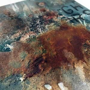 Powertex rust art