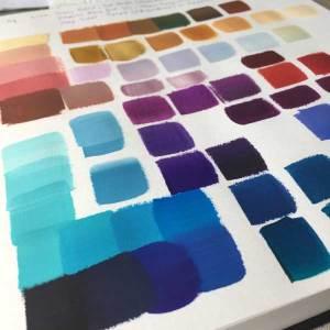 Colour palette magic in September 2020