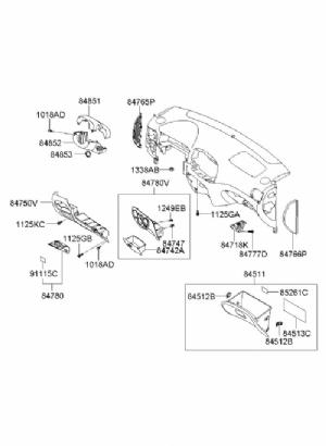 Hyundai Accent Era Direksiyon Alt Kapağı