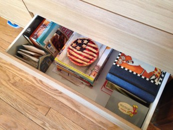 a place for my cookbooks