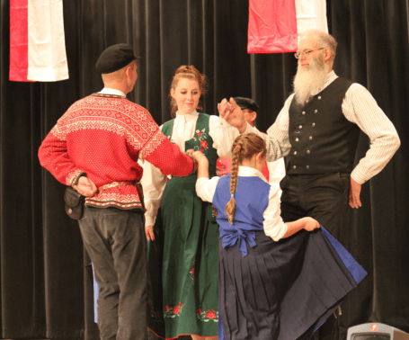 Danish Folk Dancing
