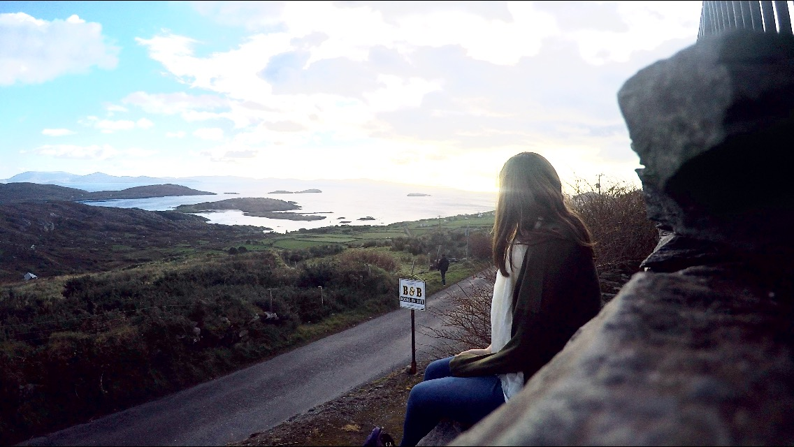 County Kerry, Cork, and Kissing the Blarney Stone