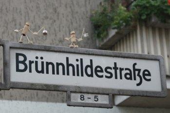 2013 Laterne laufen in der Friedenauer Brünnhildestraße
