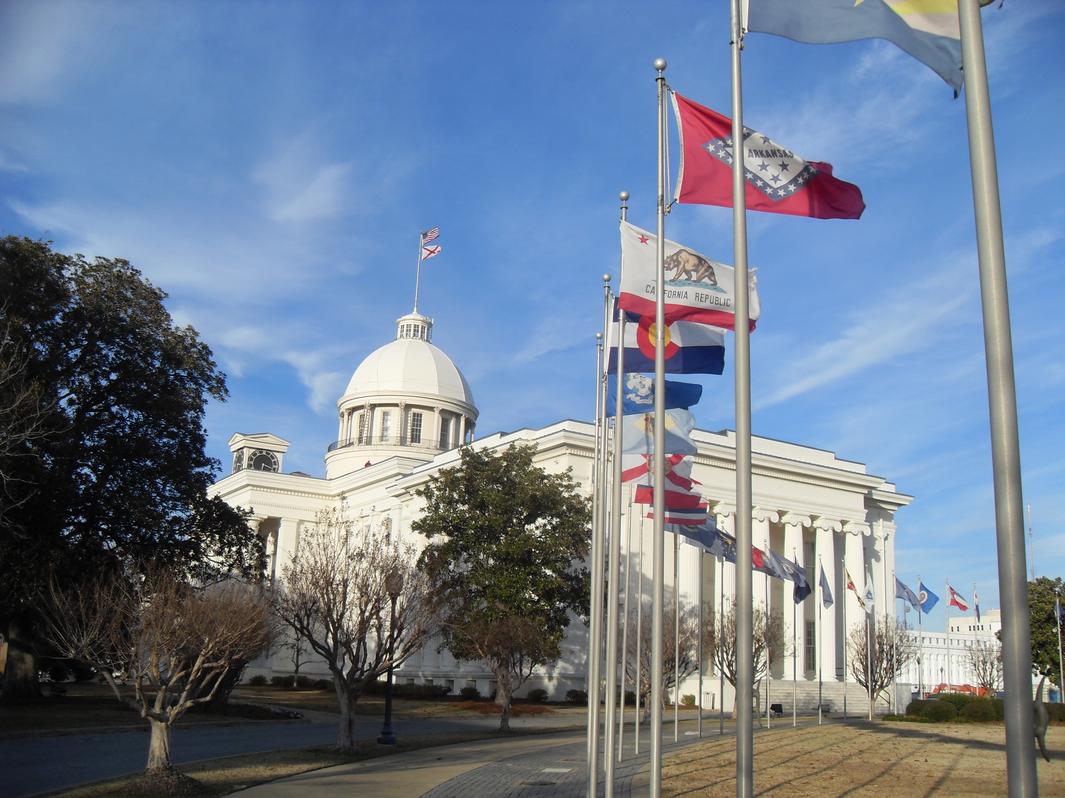 De Capitol Hill van Alabama werd gekopieerd in Washington DC