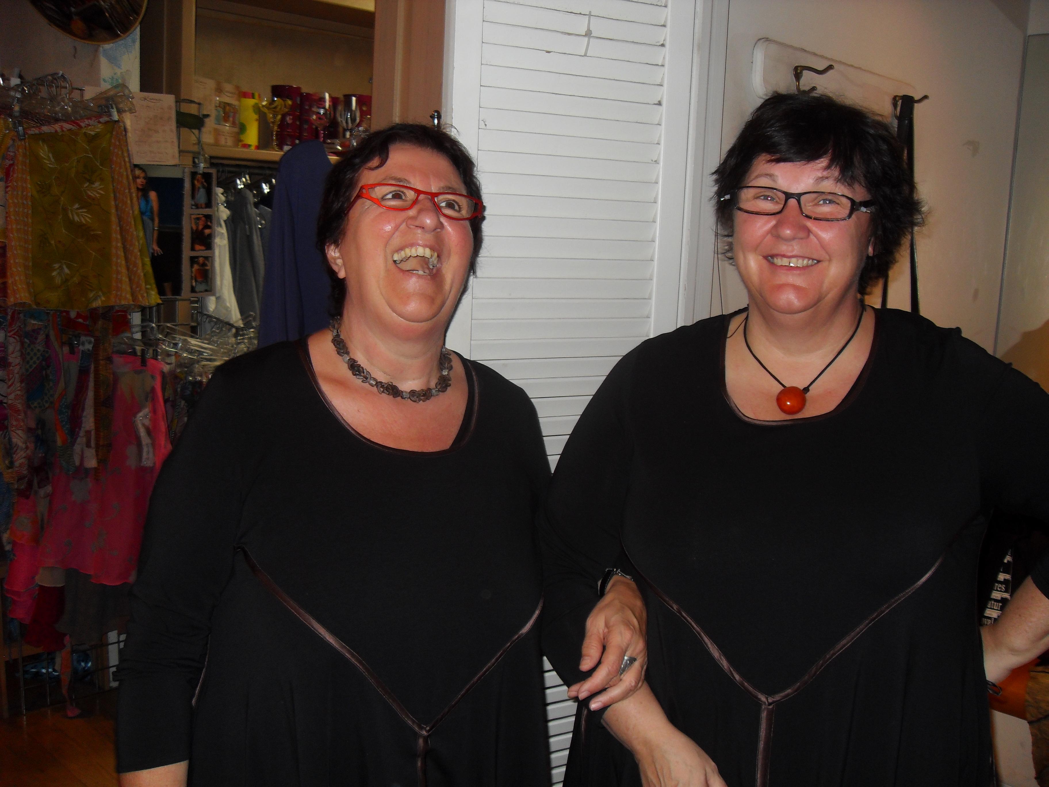 Shopping. Twins?!?
