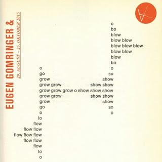 EUGEN GOMRINGER & Neue Konkrete Poesie