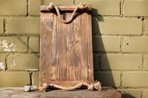 Wooden tray Bergen