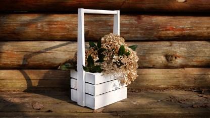 Flower pot Herlen White