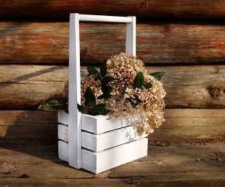 Flower pot Herlen White