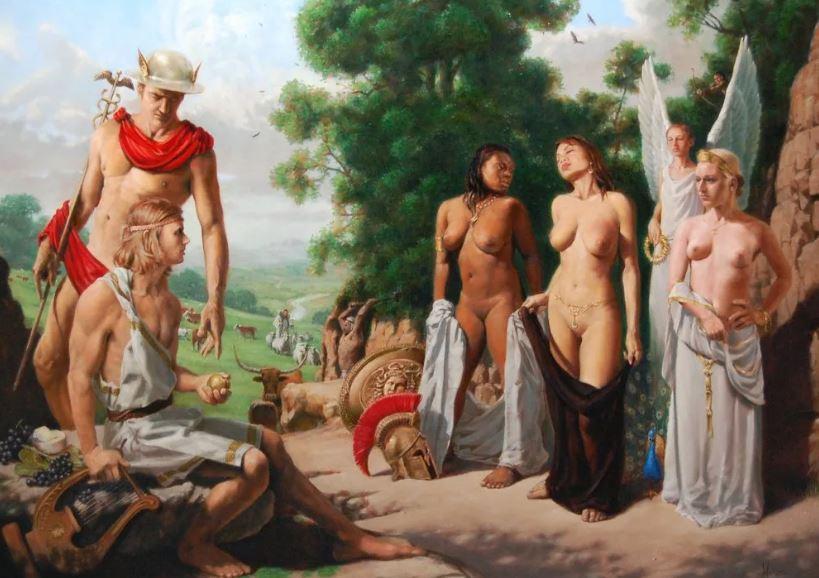 Союз богов и человеческих женщин.
