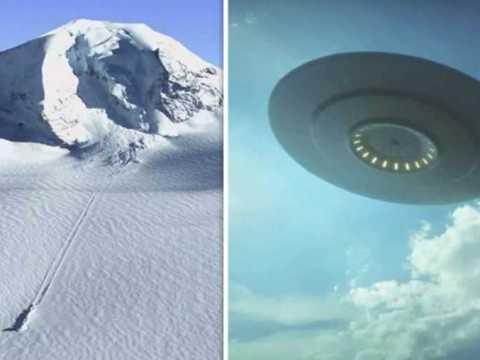 В Антарктиде обнаружен упавший НЛО.