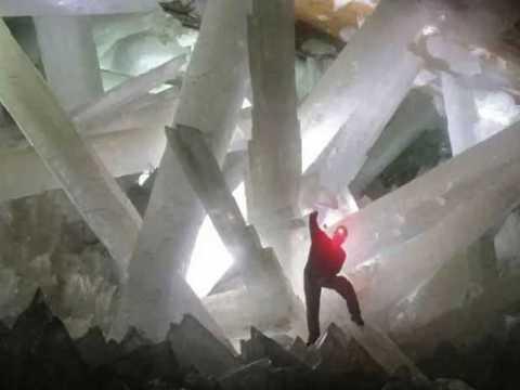 Пещера гигантских кристаллов, Мексика.