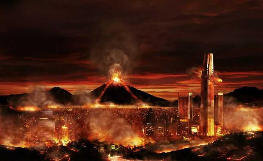 Конец света: адское пламя все уничтожит.