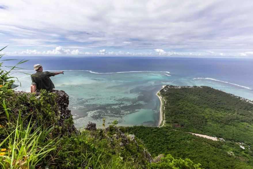 Чудо природы. Вид с берега.