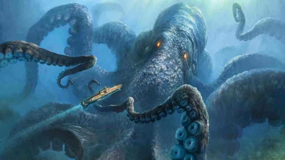Преславутый кракен, может он мутит воды океана?
