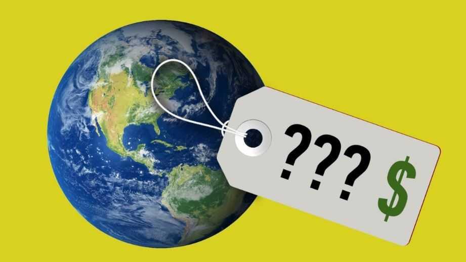 Стоимость планеты Земля.
