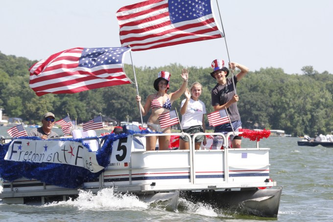 Lake Koronis 2018 Fourth of July boat parade winners!