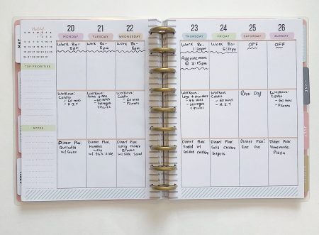 planning can help with with achieving your realistic new year resolutions
