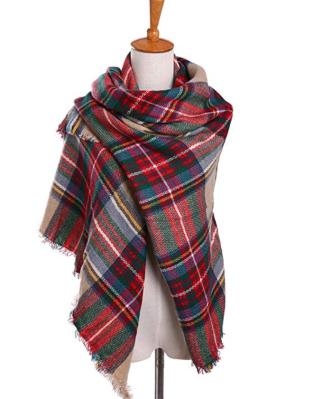 Screenshot_2019-11-22 Bess Bridal Women's Plaid Blanket Winter Scarf Warm Cozy Tartan Wrap Oversized Shawl Cape (One Size, [...].png