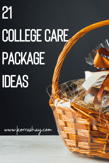 21 college care package ideas!