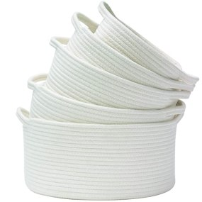 white woven basket set great gift for homes