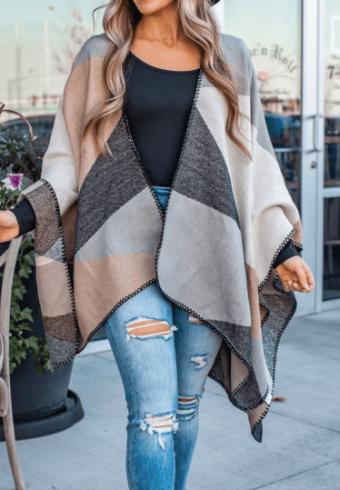 Poncho: gift ideas for 20 something women