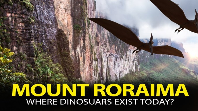 Could the Legend be True?... Dinosaurs May Still Exist Today in this Location