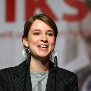 Juso-Vorsitzende Franziska Drohsel fordert utopischen Sozialismus