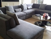 U Shaped Sofa Vimle U Shaped Sofa 6 Seat With Open End ...