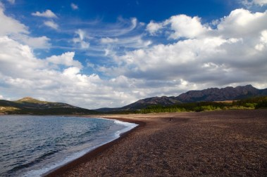 Beach, Strand in Largentella auf Korsika