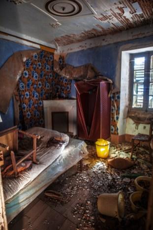 Ruine auf Korsika Innenansicht