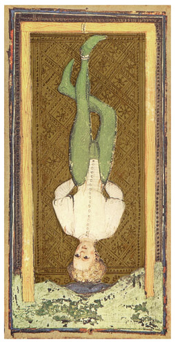 Visconti-Storz Tarot, The Hanged Man