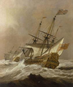 """Resolution in a gale"" Van de Velde"