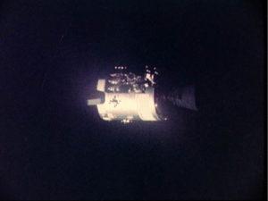 Apollo 13 -- damaged service module