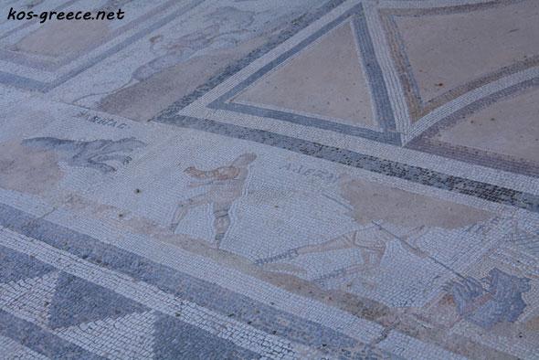 Roman mosaics picture